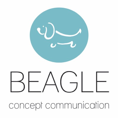 Beagle-concept-communication-logo